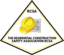 THE RESIDENTIAL CONSTRUCTION SAFETY ASSOCIATION RCSA Logo